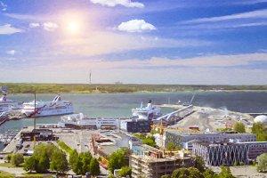 Tallinn sea port
