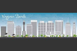 Virginia Beach (Virginia) Skyline