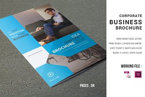 Corporate Brochure Template-V598