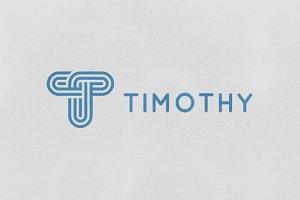 Timothy - Letter T Logo