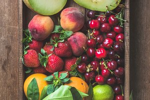 Healthy summer fruit variety