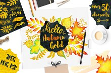 Fall Golden Autumn clipart