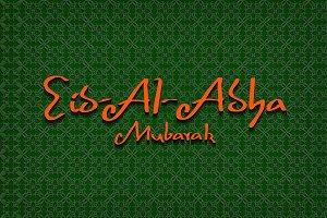 Eid Al Adha Mubarak design.