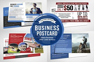 Business Postcard Bundle