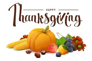 Happy Thanksgiving. Rich harvest