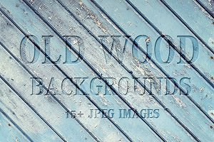 Old wood backgrounds and textures