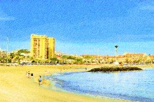 Beach Tenerife, Canary