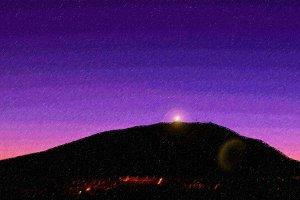 Sunrise over El Teide
