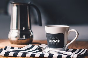 Coffee Logo Mock-up 6