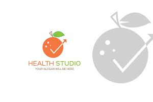 Studio Health Logo Template