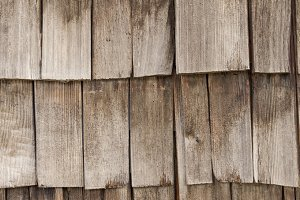 Worn shingle texture for background