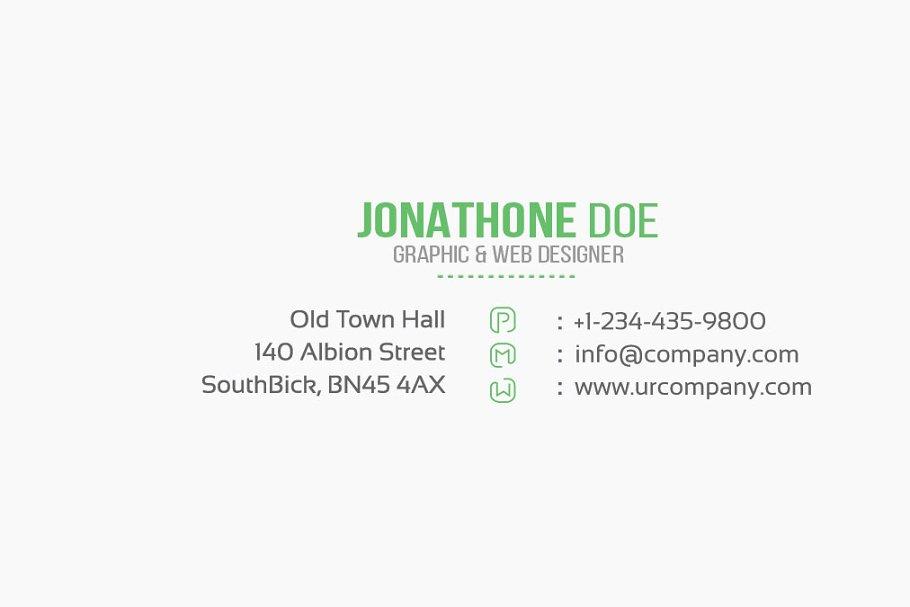 Dot Business Card