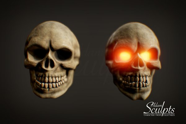 3D Fantasy: Adam Sculpts - Skull Selection