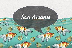 Sea dreams (marker collection)