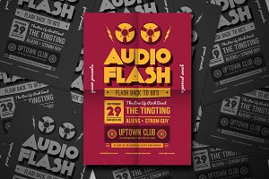 Audio Flash Music Flyer