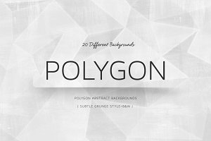 Polygon D&W Subtle Grunge Style