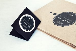 Paper Card and Paper Mock-Up