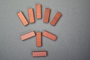 copper staples mask