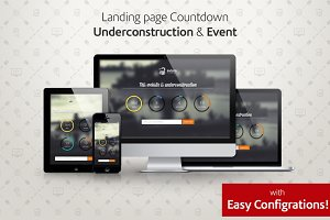 Underconstruction & Event Countdown