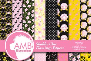 Pink Flamingo Papers 1426
