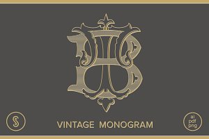 BT Monogram TB Monogram