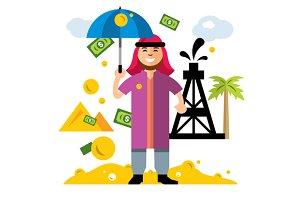 Saudi oil wealth
