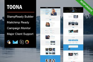 Toona - Responsive Email Template