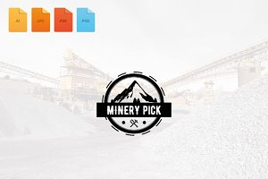 Logo Minery Pick