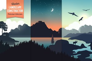 Vector Landscape Construction Set