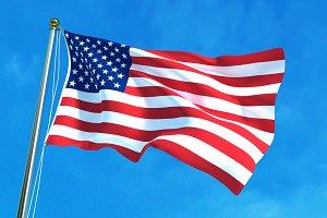 USA flag, American flag