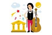Girl with Cello
