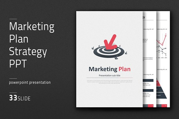 marketing plan strategy ppt vertical presentation templates creative market. Black Bedroom Furniture Sets. Home Design Ideas