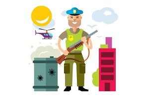 Police. Policeman