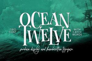 Ocean Twelve Font Duo