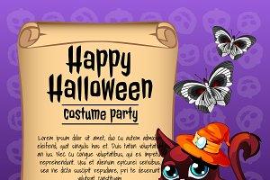Halloween animal cards