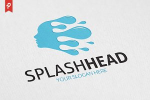 Splash Head Logo