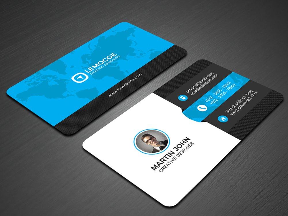 Lemocoe Business Card ~ Business Card Templates ~ Creative Market