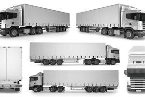 6 x Big Truck Background