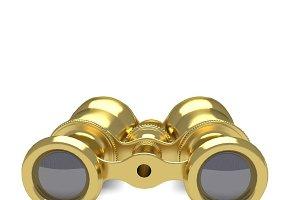 Opera Gold Glasses