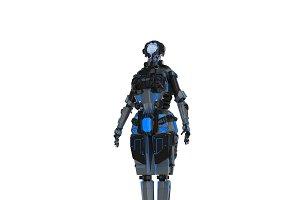 Sci-Fi Female Character 1