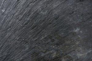 Old black slate stone texture