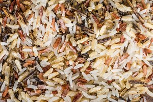 Rice macro or closeup texture
