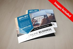 Business Square Trifold Brochure