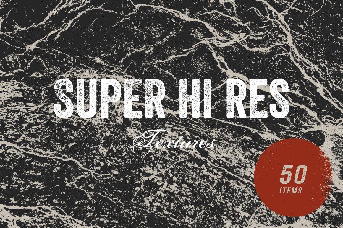 50 Super Hi Res Textures