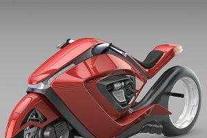 Sport bike futuristic concept