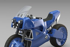 Offroad motorcycle concept