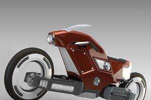 Racing sportbike concept