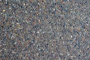Stone pebble walkway texture
