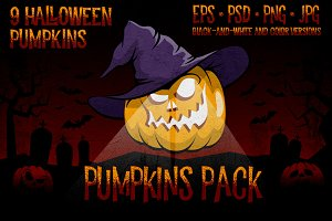 Halowen Pumpkins Pack