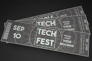 Tech Fest Event Ticket